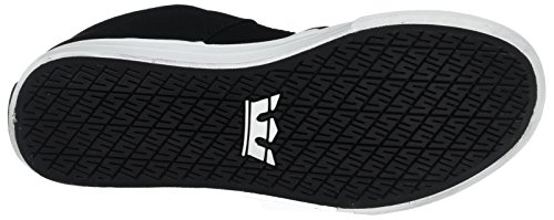Supra Stacks Vulc Ii, chaussons d'intérieur mixte enfant Schwarz (Black - White)
