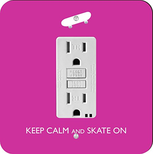 Rikki Knight Keep Calm and Skate on