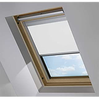Blackout Roof / Skylight blinds For Velux GGL/GPL/GHL (WHITE 0008 (SYS F), P10/410/3)