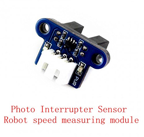 Venel Arduino Photo Interrupter Sensor, Speed Measuring / Infrared  Detection for Motor Speed Detection or Pulse Counter
