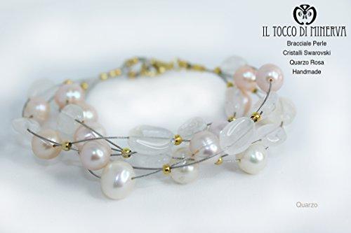 bracelet-perles-swarovski-et-quartz-rose-fait-a-la-main-made-in-italy