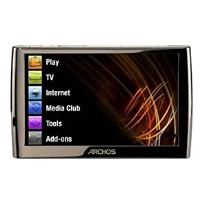 """Archos 5 250GB Internet Media Tablet WiFi 5"""",High Resolution Touch Screen 800x480 pixels,convenient leg stand."""