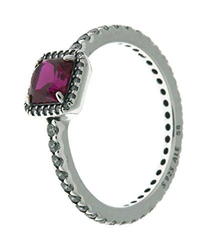 PANDORA Damen-Ringe zirkonia Ringgröße 58 (18.5) 190947SRU-58 (Pandora Eine Liebe Ring)