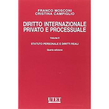 Diritto Internazionale Privato E Processuale: 2