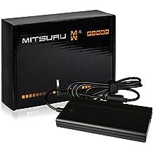 Mitsuru® Super Slim 90W Notebook adaptador cargador compatible con Fujitsu Siemens LifeBook C-1110, C-1020, C-1010, AH564, AH544/G32, AH544, A555/G, C-6387, E746, E756, U904 , con eurocable