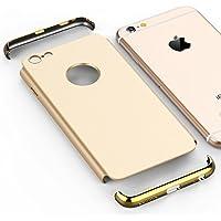 VemMore iPhone 6S Hülle iPhone 6 Hülle Hard Handyhülle Ultra Slim Dünn 360 Hardcase Full Body Case 3 in 1 Gold... preisvergleich bei billige-tabletten.eu