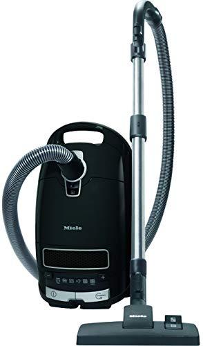 Miele Complete C3 Pure Black Ecoline Aspirapolvere a Traino con Sacco, 550 watts, filtro AirClean, Nero