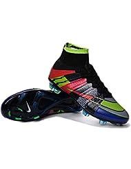 Andrew Zapatos para hombre botas de fútbol Mercurial Superfly, hombre, arco iris, 43
