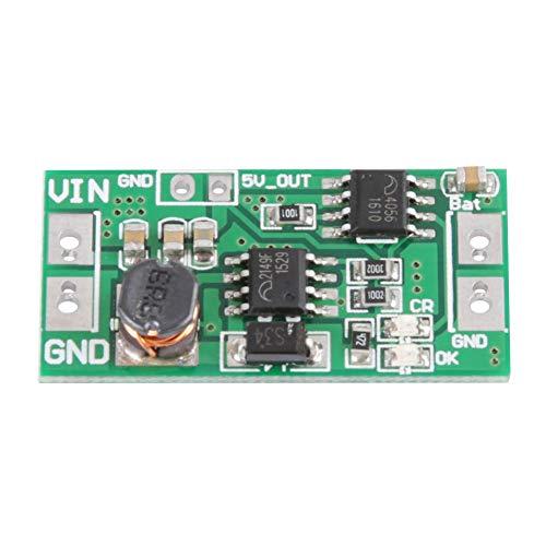 Aufwärtswandler, 2 in 1 DC 1,5 V 3 V 3,3 V 3,7 V zu 4,2 V 5 V Boost-Ladekarte Ladegerät Modul Lithium-Batterie Ladekarte - 1,5 V Dc Lithium-batterien