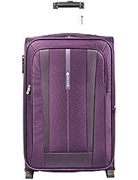 Safari Revv Polyester 65 cms Purple Softsided Suitcase (Revv-65-Purple-2wh)