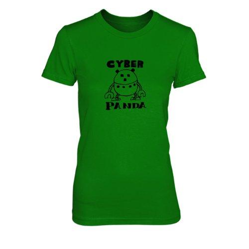 OP Cyberpanda - Damen T-Shirt Grün