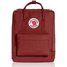 Fjällräven Kånken 23510, Mochilla Unisex, Rojo (Ox Rojo), 16 L (