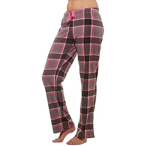 Alki'i invernale Lounge Pajama Bottom-Pantaloni in pile