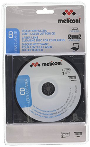 Galleria fotografica Meliconi 621011, CD Pulizia Lente, per Home Audio, Car Audio e PC