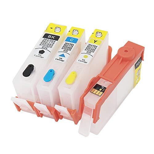 Teng® 4X leeren Wiederbefüllbare Auto Reset Druckerpatronen kompatibel mit HP 932XL 933XL 932 XL 933 XL für HP Officejet 6600 6700 7612 7610 7110 6100 Drucke