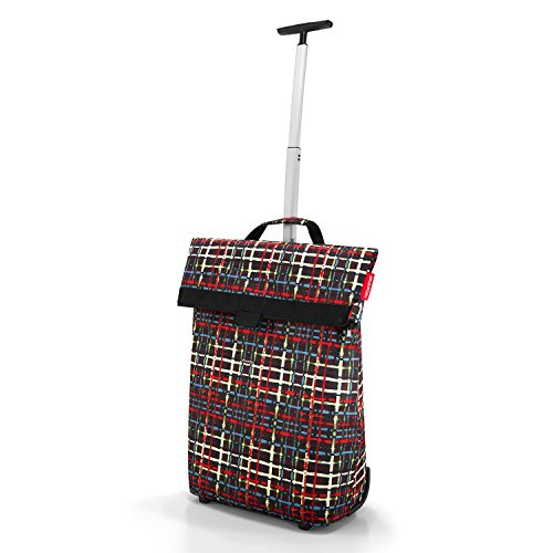 Reisenthel Trolley M, Shopping Bag, Shopping Basket on Castors, baroque taupe, NT7027 Wool
