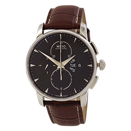 MIDO Men's Automatic Watch M860741882 with Leather Strap by Mido