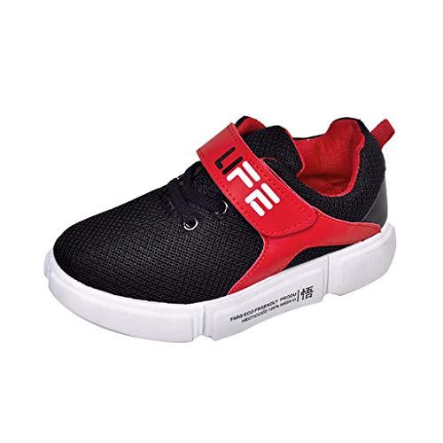 YWLINK 1 Pair Shoes Moda Infantil Estilo Simple, Zapatos para NiñOs, NiñOs Y NiñAs Corriendo Antideslizante Sole Suave Respirable Casual