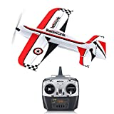 Goolsky Radiolink A560 560mm Envergure Avion 3D PP Aile Fixe RC Avion Drone PNP/RTF pour Débutant Formateur (RTF)
