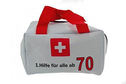 Geburtstags Tasche 1.Hilfe für alle ab 70 Jahre Party Deko