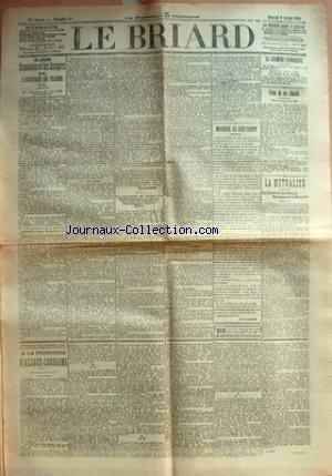 BRIARD (LE) [No 11] du 08/02/1911 - LES SCANDALES ...