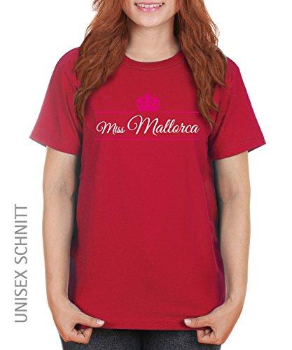 ::: MISS MALLORCA ::: Girls T-Shirt ::: auch im Unisex Schnitt Rot