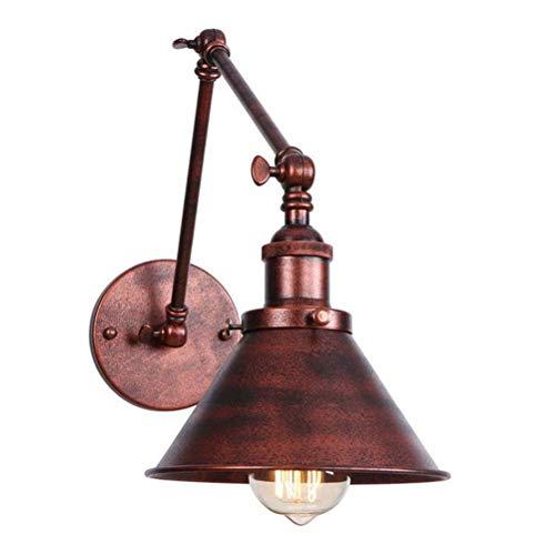 Lámpara pared, Vintage industrial largo swing brazo