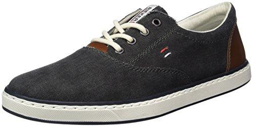 Rieker 19650, Sneakers Basses Homme Gris (Anthrazit/kastanie)