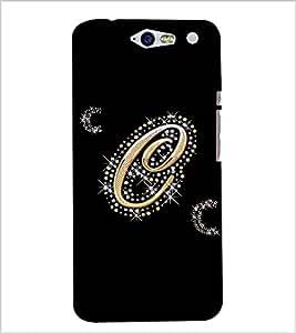 Fuson Designer Back Case Cover for InFocus M812 (A Diamond Alphabet C Theme)