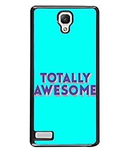 Fuson Designer Back Case Cover for Xiaomi Redmi Note :: Xiaomi Redmi Note 4G :: Xiaomi Redmi Note Prime (Totally Awesome Words Sayings)
