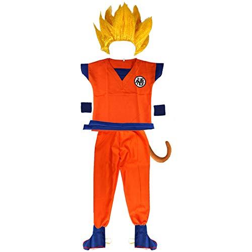 Halloween Kinder Kleidung Cosplay Maskerade Leistung Kostüme, verkleiden Kinder Männer und Frauen Sun Wukong ()