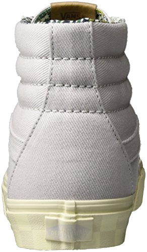 Vans Herren Ua Sk8-Hi Reissue Dx Hohe Sneakers Grau (Twill Wind Chime)
