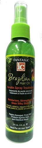 ic Fantasia Hair Oil Spray Kératine brésilienne traitement 171 ml