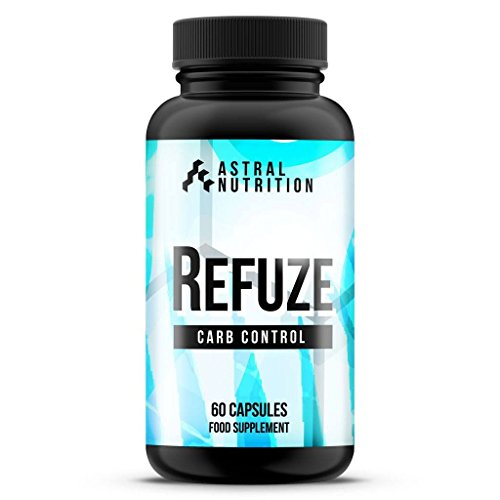41EqwhQV5VL. SS500  - Refuze Carb Blocker - 1 Month Supply | Max Strength Carbohydrate Inhibitor | Advanced Weight Loss Formula