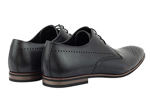 ... Tamaño 7 Nueve Uk 6 Jusquderby Marrón 11 8 10 Cuero Vestido De De  Zapatos Elegante 10551a6f01b