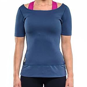 Zaggora-Fascia per esercizi,-Maglietta, taglia s, blu Navy