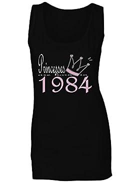 Las nuevas princesas del diseño del arte nacen en 1984 camiseta sin mangas mujer b544ft