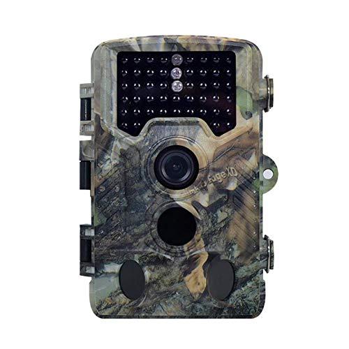 Lugang Wildlife Kamera 16MP HD, Hinterspiel-Kamera Mit IR-Nachtsicht Und 2.4In TFT-Display, Bewegungsaktivierung Foto Geschwindigkeit 0.2S, Für Garten Im Freien