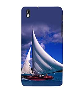 printtech Water Ship Sailing Back Case Cover for HTC Desire 816::HTC Desire 816 G