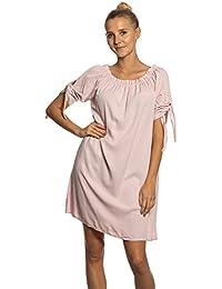 c3afe793844c Abbino IG011 Kleider Damen Frauen Mädchen - Made in Italy - Viele Farben -  Übergang Frühling Sommer Herbst Damenkleider Feminin Sexy…