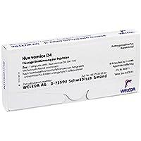 NUX VOMICA D 4 Ampullen 8x1 Milliliter preisvergleich bei billige-tabletten.eu