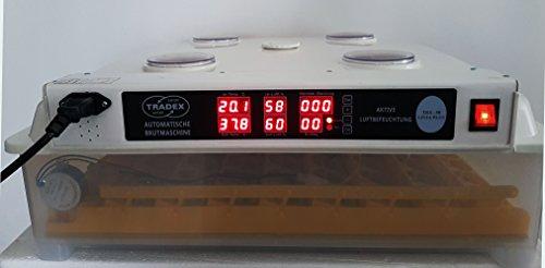Brutmaschine VOLLAUTOMATISCH, 98 Eier, AKTIVE LUFTBEFEUCHTUNG