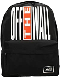 3c43f07fc9401 Vans Realm Classic Black Backpack - Black off The Wall