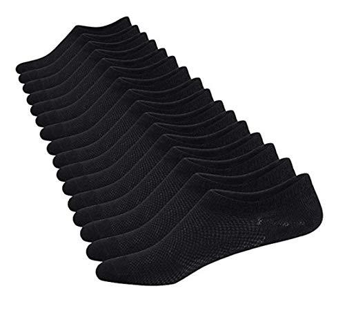 Aisprts Calzini Fantasmini Uomo, Sneaker Calze Invisibili in Cotone, Calze Corti...