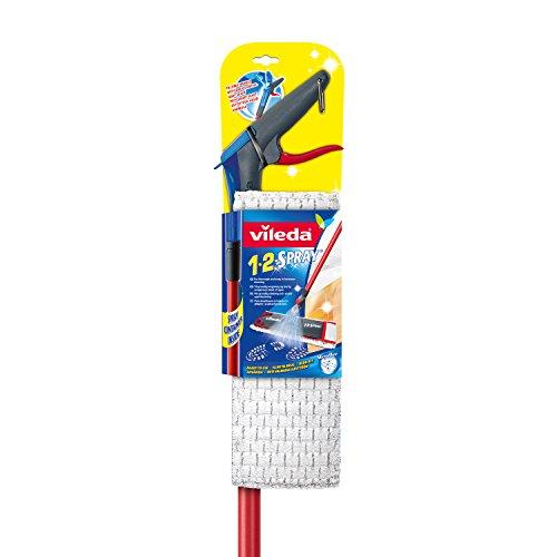 Vileda 1-2 Spray Bodenwischer mit integriertem Sprühtank im Stiel