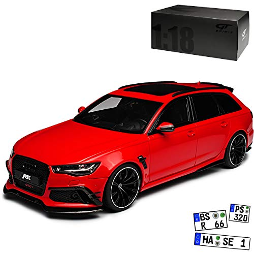 GT Spirit A-U-D-I A6 RS6 Plus C7 Avant Kombi Rot Ab 2010 Nr 736 1/18 Modell Auto