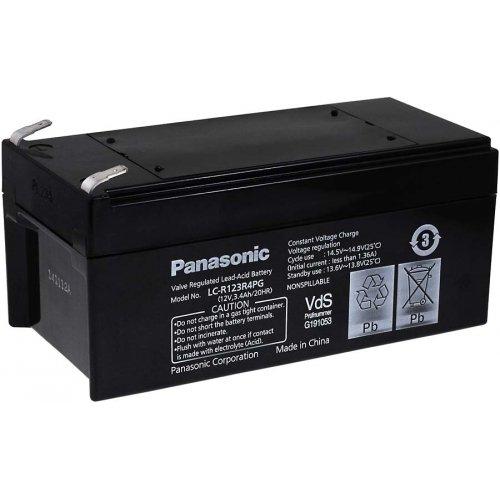 Panasonic Bleiakku LC-R123R4PG, 12V, Lead-Acid