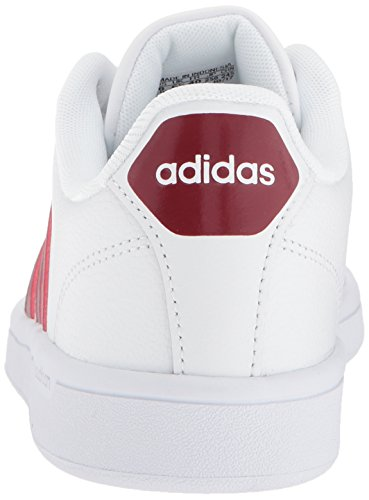 adidas CF Advantage Femme Ftwr White, Collegiate Burgundy, Ftwr White