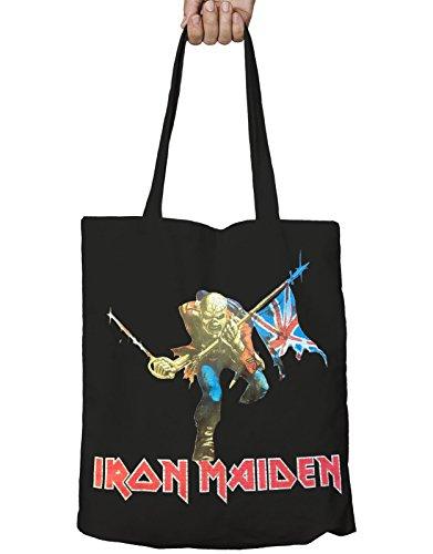 Iron Maiden Fourre-Tout The Trooper Band Logo Zip Top nouveau officiel