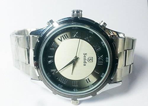 PANSIM High Quality Beautiful Wrist Watch Spy Camera (4 GB) ...  available at amazon for Rs.2950